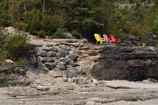 Isthmus Bay, Prepared Chairs, Canada