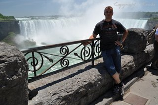 Johnny near by Niagara Falls, Canada